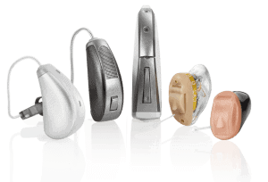 Different Hearing Aids in Multiple Shapes